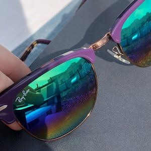 Purple Ray-Bans
